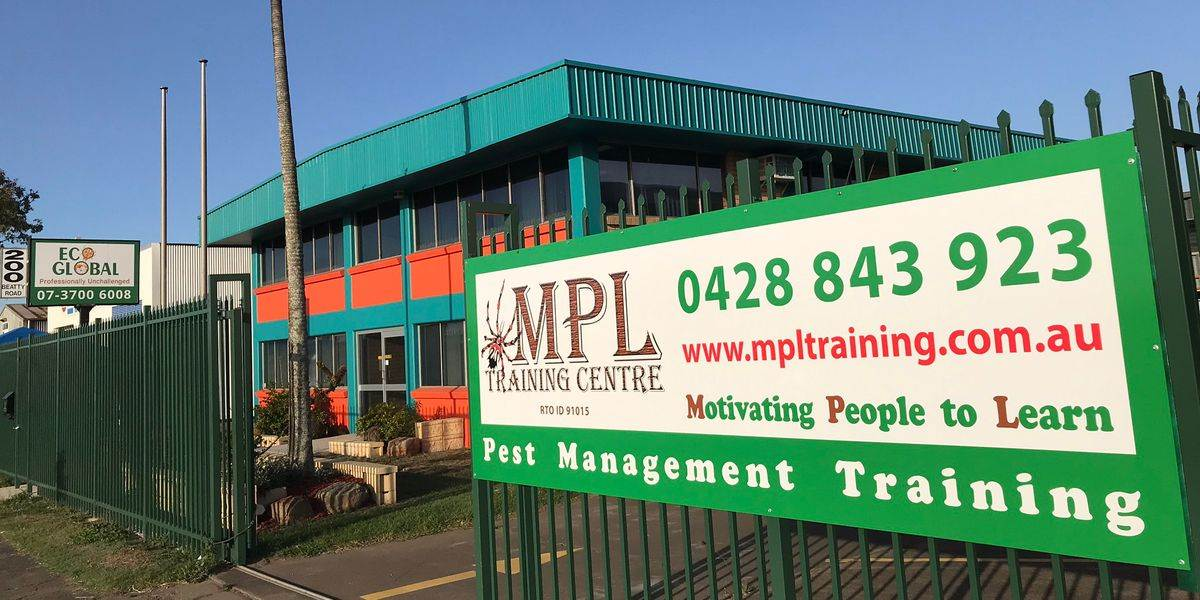MPL pest management training courses, face-to-face and correspondence - classroom